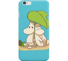 The moomins drawing iPhone Case/Skin