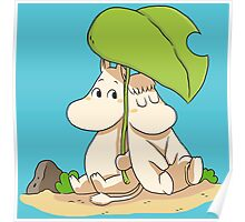 The moomins drawing Poster