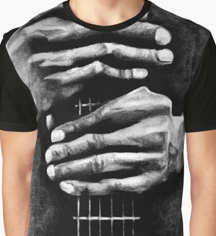Hands of the Blues Graphic T-Shirt