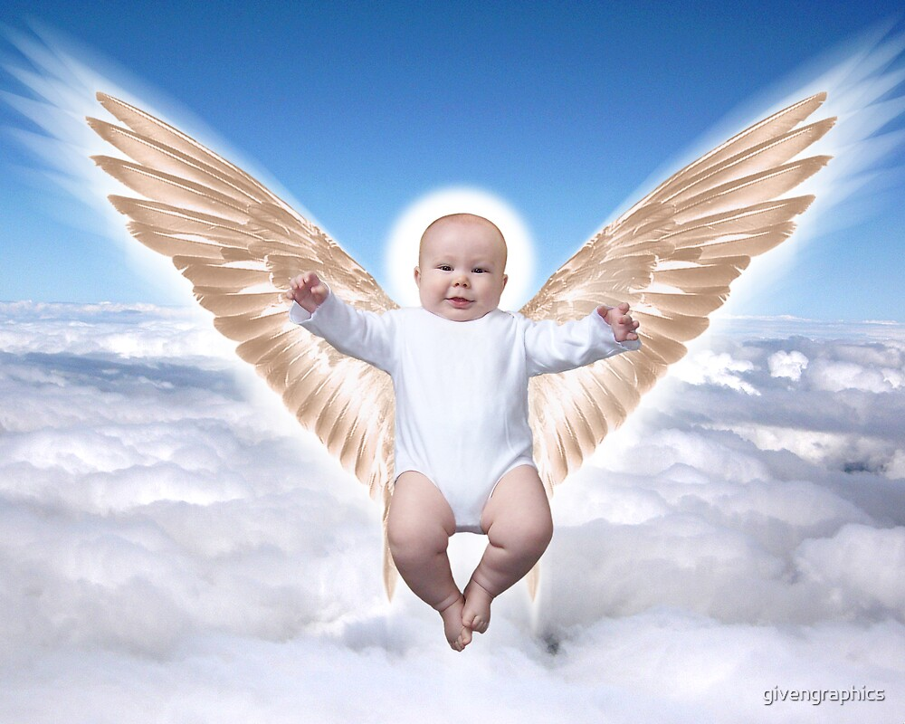 Baby Angel by givengraphics