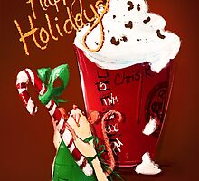 RatBux Holiday Brew by nicolealesart