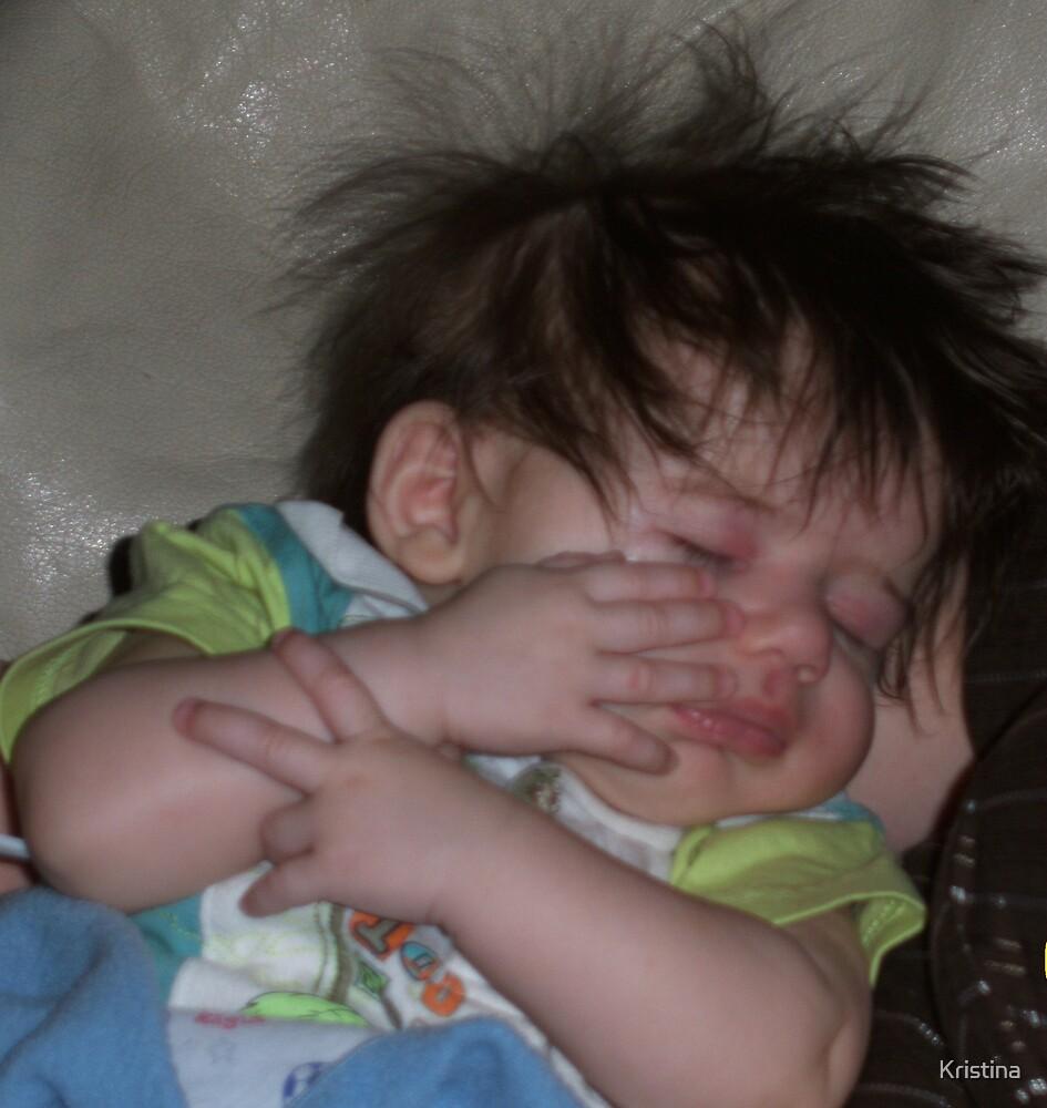 sleepin baby by Kristina