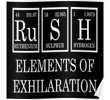 Rush Periodic Table  Poster