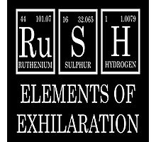 Rush Periodic Table  Photographic Print