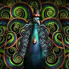 Steampunk - Pretty as a peacock by Mike  Savad
