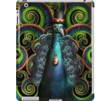 Steampunk - Pretty as a peacock iPad Case/Skin