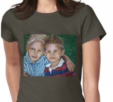 Brothers #2 Womens Fitted T-Shirt