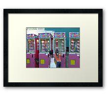 The Cash Machine Framed Print