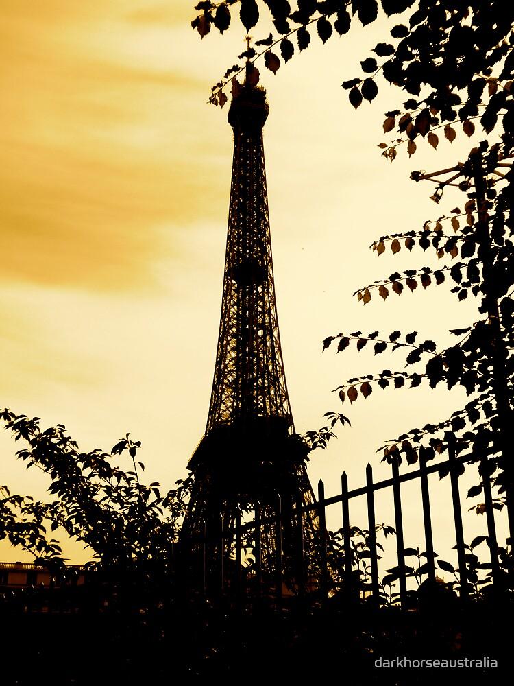 Eiffel Tower by darkhorseaustralia