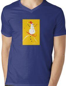 Ski Wee Mens V-Neck T-Shirt