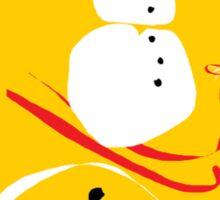 Ski Wee Sticker