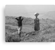 Mt. Elgon, Uganda Metal Print