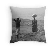 Mt. Elgon, Uganda Throw Pillow