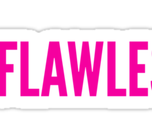 #FLAWLESS Sticker