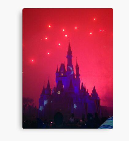 Wishes Magic Kingdom Canvas Print