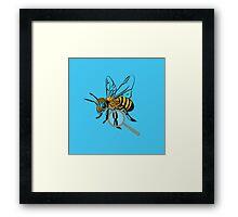 The Bee's Knee's Framed Print