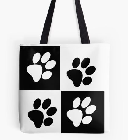 Paw Pillow Tote Bag