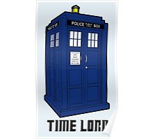 Time Lord, Dr. Who, BBC, Tenth Doctor, Geek, TV Show, Weeping Angels Poster