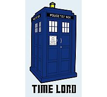 Time Lord, Dr. Who, BBC, Tenth Doctor, Geek, TV Show, Weeping Angels Photographic Print