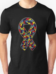 Autism Ribbon Unisex T-Shirt