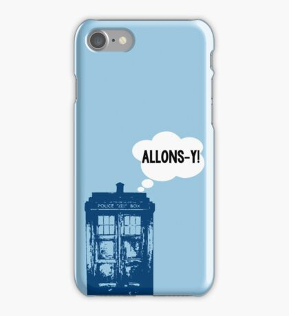 """ALLONS-Y!"" - 10th Doctor iPhone Case/Skin"