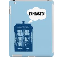 """FANTASTIC!"" - 9th Doctor iPad Case/Skin"