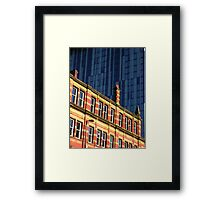 present and past Framed Print