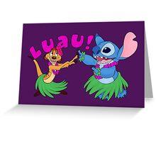 Luau! Greeting Card