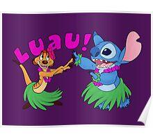 Luau! Poster