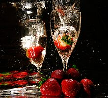 Strawberry Fountain by cap10kirk