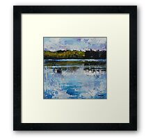 Clouds, Wind, Water Framed Print
