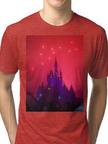 Wishes Magic Kingdom Tri-blend T-Shirt