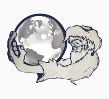the whole world in a monkeys hands Kids Clothes