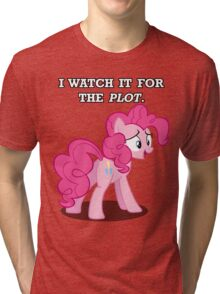 For the Plot (Pinkie) Tri-blend T-Shirt
