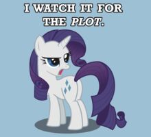 For the Plot (Rarity) by vigorousjammer