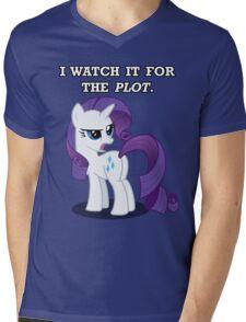 For the Plot (Rarity) Mens V-Neck T-Shirt