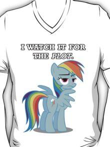 For the Plot (Rainbowdash) T-Shirt