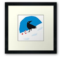 Crow Berries Framed Print