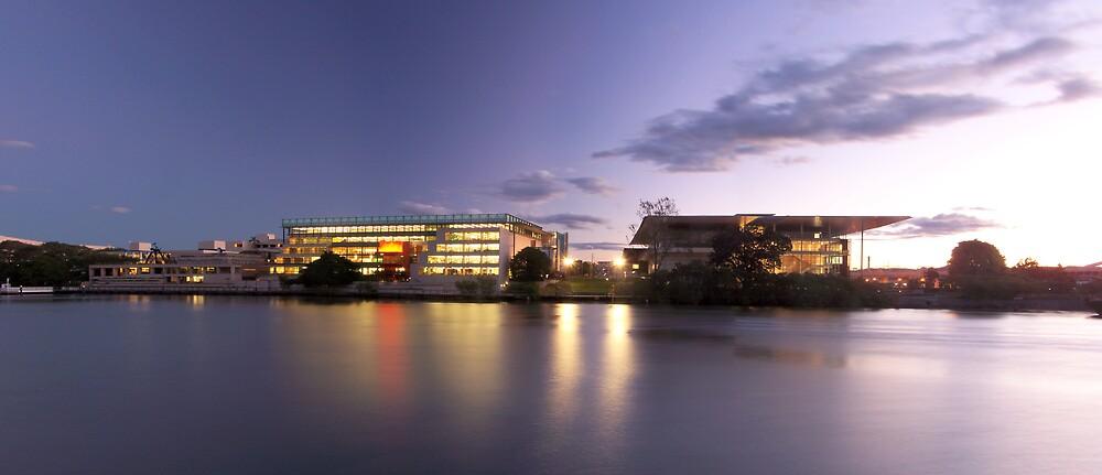 Brisbane Arts Complex. by aperture