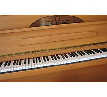 Tickling the Ivories - Piano Keyboard Photographic Print