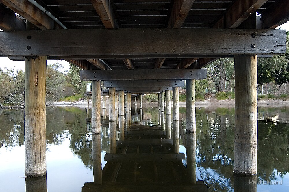 Under the bridge. by Paul Elward