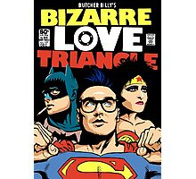 Butcher Billy's Bizarre Love Triangle: The Post-Punk Edition Photographic Print