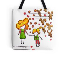 Chocolate Bunnies Tote Bag