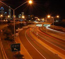Perth by night. by Paul Elward