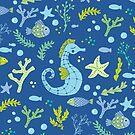 Seahorses by JMHurd