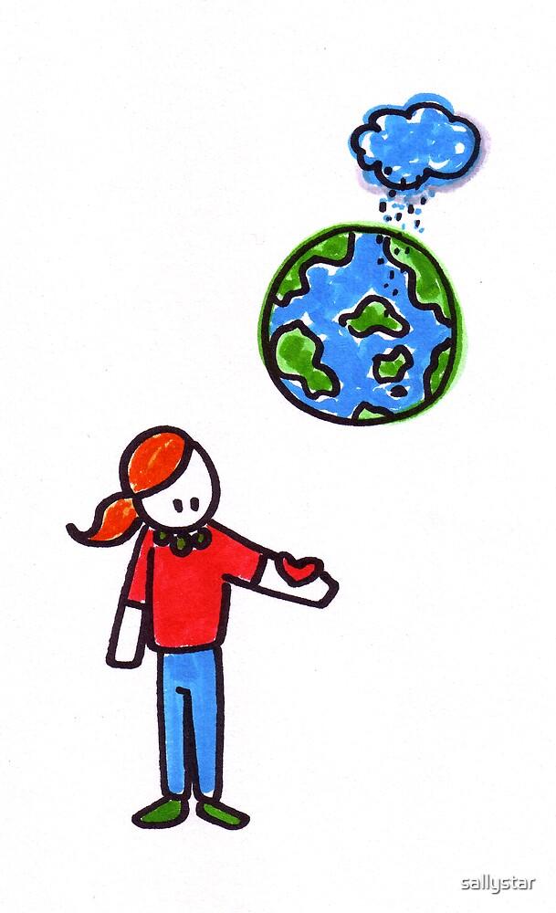 Sad Planet by sallystar