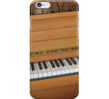 Tickling the Ivories - Piano Keyboard iPhone Case/Skin