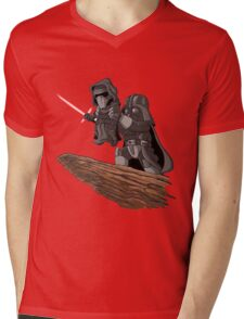 villain funny Mens V-Neck T-Shirt