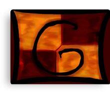 Gryffindor Banner Canvas Print