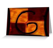 Gryffindor Banner Greeting Card